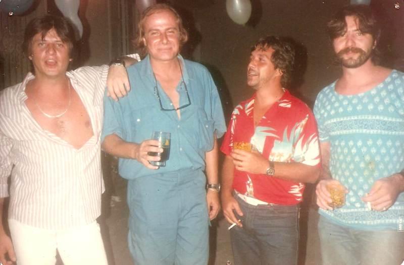 Da esquerda para direita: Bing, Quiabo, Jujuba e Ruy