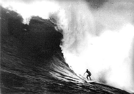 Peter Cole, Waimea 1967. Foto: Bud Browne