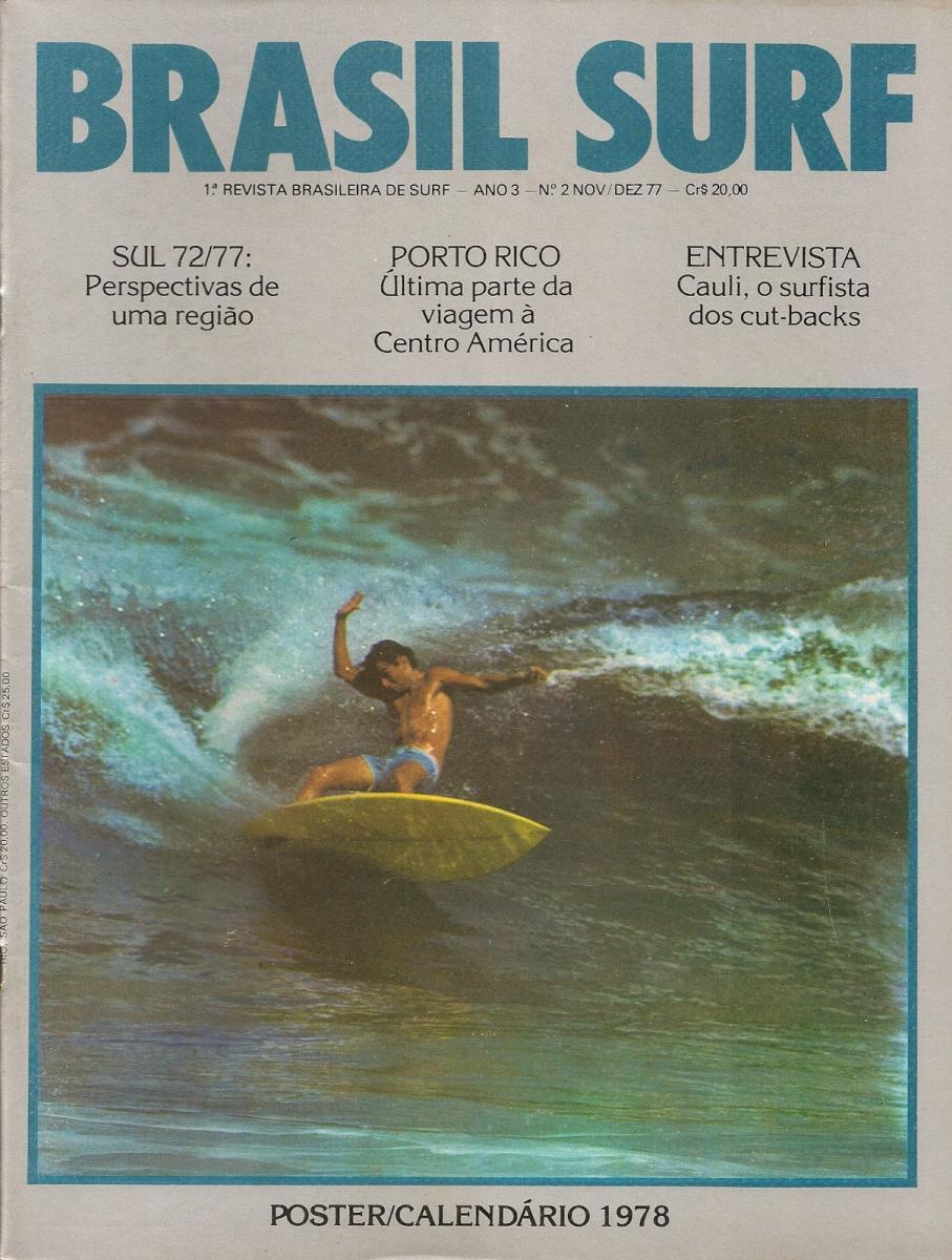 Capa da Revista Brasil Surf com Cauli